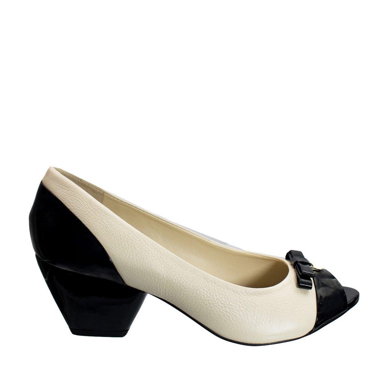 Loucos Santos e Nude Peep 04 Toe Peep Toe 360 Sapato Sapato 4xH6qX