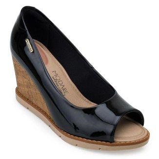 Sapato Peep Toe Modare Anabela MD21-714910
