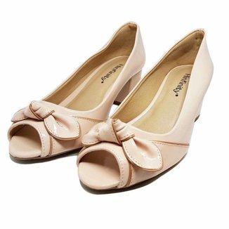 Sapato peep Toe Nozinho 283 HINFINITY Feminino