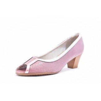 Sapato Peep Toe Piccadilly Feminino