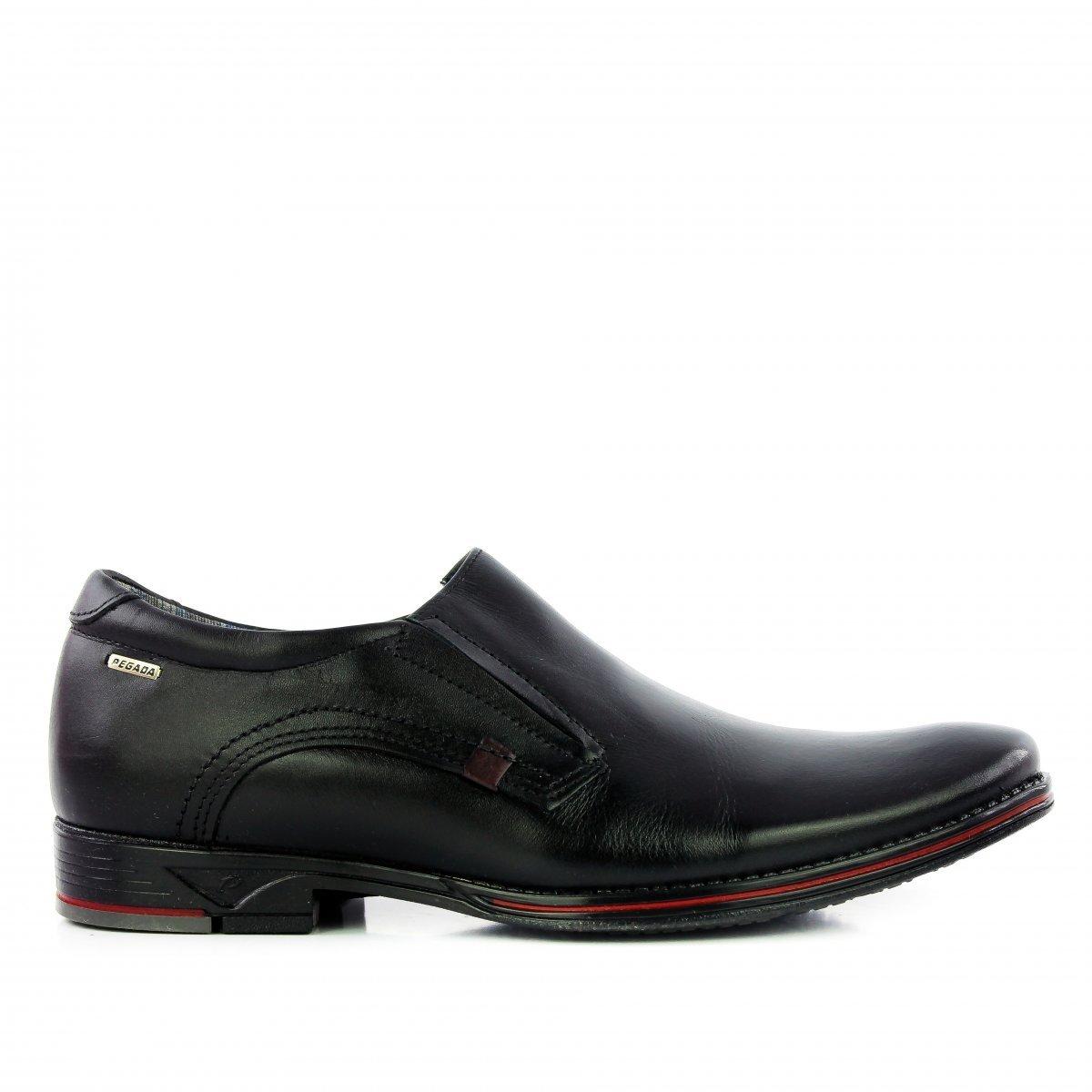 Pegada Pegada Pegada Preto Couro Sapato Em Couro Preto Sapato Sapato Em 5FtO7RnqF