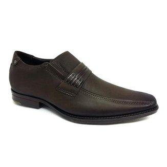 Sapato Pegada Social Couro Masculino