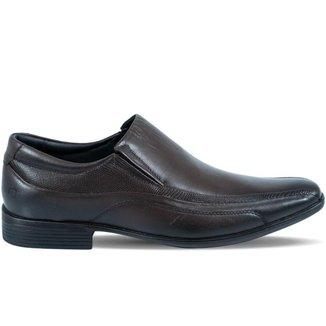 Sapato Pipper Masculino Antitensor em Couro Marrom Capuccino