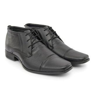 Sapato Premium Masculino Couro Comfort Social