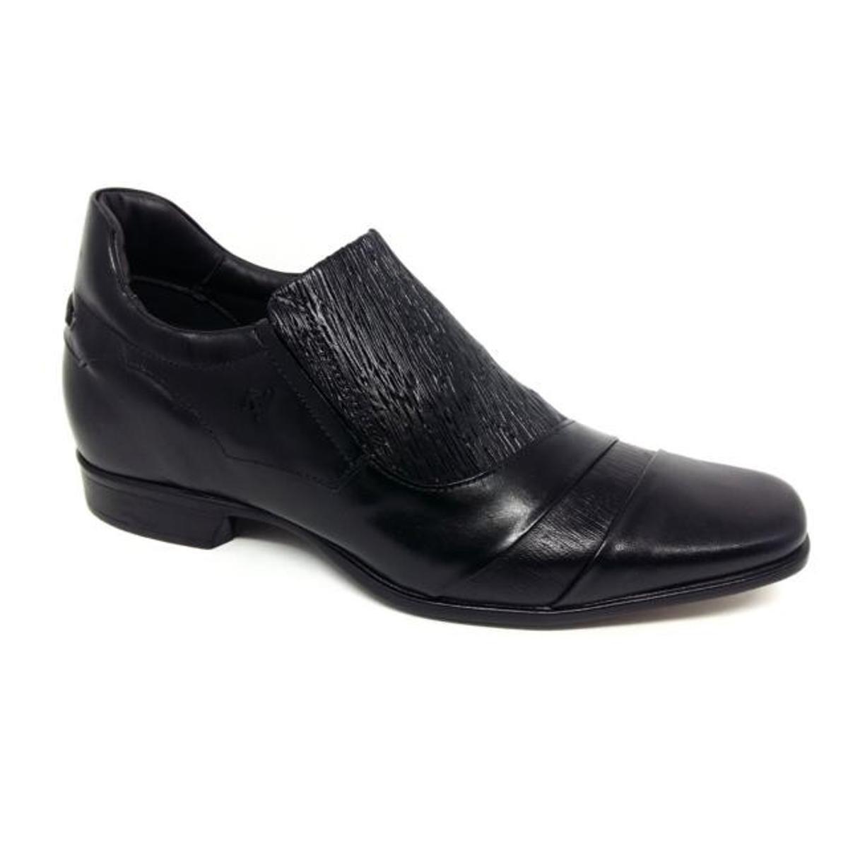 fd245af7d5 Sapato Rafarillo Palmilha De Aumento 7cm Social Masculino - Preto   Zattini