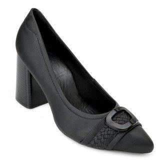 Sapato Salto Bloco Sense