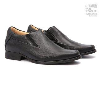 Sapato Samello Elevator Columbres Masculino Couro