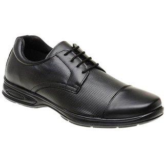 Sapato Sandalo Social Meducci Cadarco Preto + Cinto