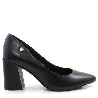 Sapato Scarpin Salto Grosso Giulia Domna 565.01 Feminino