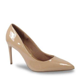 Sapato Scarpin Vizzano 1344.100 Salto Reto em Verniz Feminino