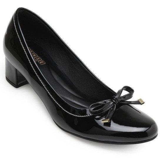 Sapato Sense Rio Laço ZA19-2006 Feminino - Preto
