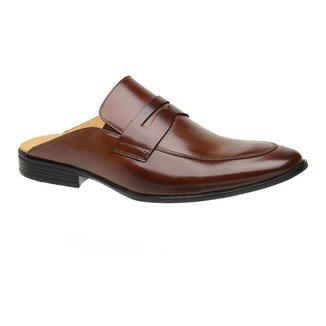 Sapato Slipper Mule Malbork Mouro Masculino