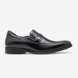 Sapato Smart Comfort Dual Soft Dress Preto-Preto-37