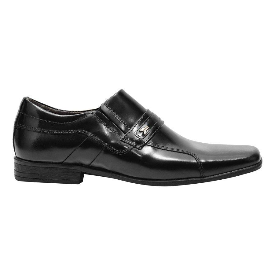 Sapato Preto 3LS3 Legítimo Couro Social Social Sapato pW4qwrpY