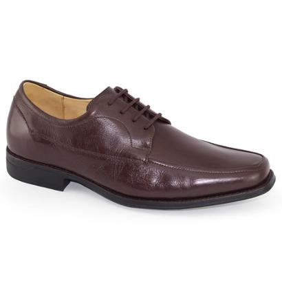 Sapato Social Anatomic Gel Elegance Brown Masculino