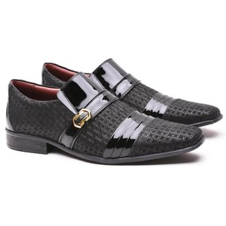 Sapato Social Artesanal Gofer 12403 Masculino