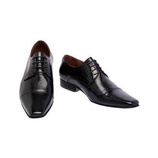 Sapato Social Bari Pelica/Estampa Preta 7015