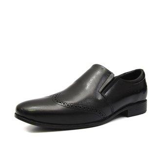 Sapato Social Bico Shoes Grand Oxford Fino Masculino