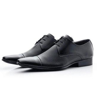 Sapato Social Bigioni 307 Couro