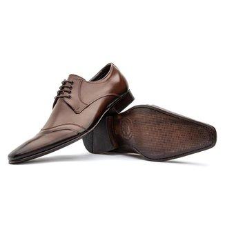 Sapato Social Bigioni 350 Mouro Couro
