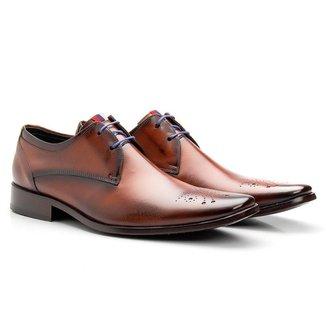 Sapato Social Bigioni Masculino Couro Elegante Conforto
