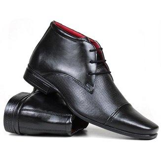 Sapato Social Bota Casual Masculino Confort