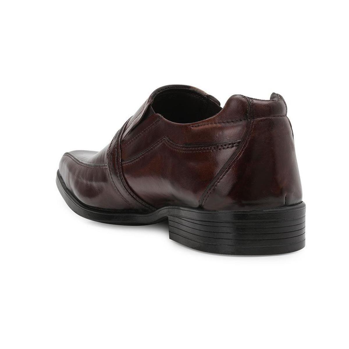 Sapato Social Bristelli Masculino - Café