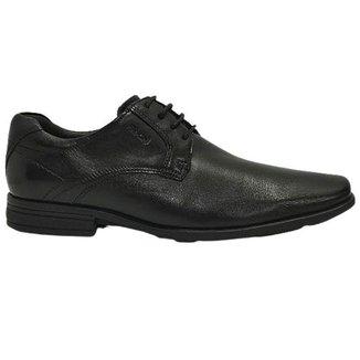 Sapato Social Cadarço em COURO Ferracini 244h MAYER BA 5987