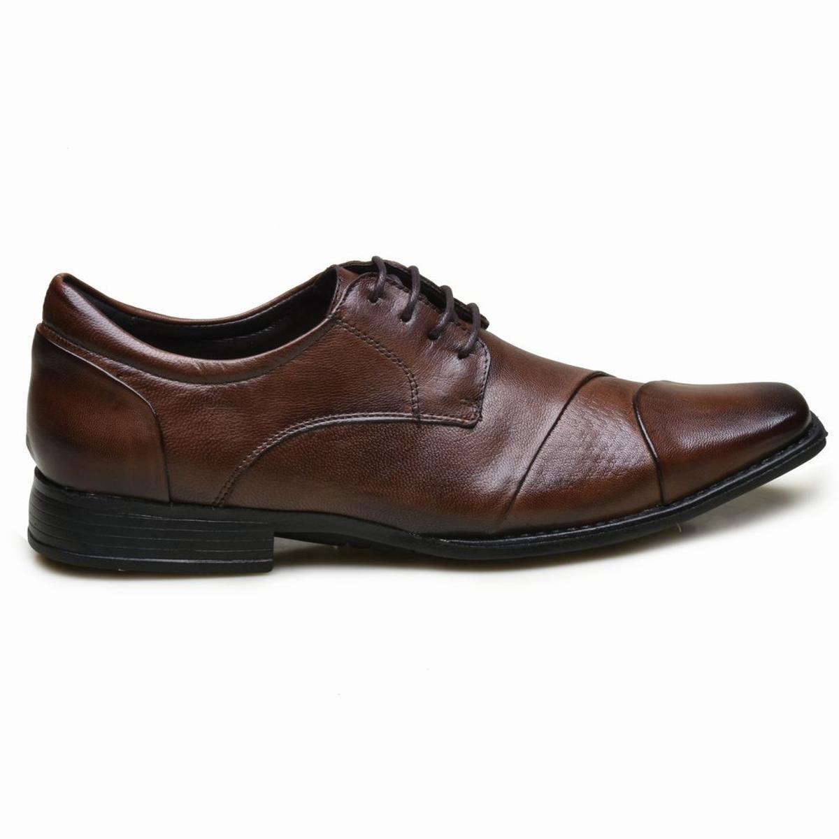 Sapato Marrom Masculino Diplomata Sapato Couro Calvest Social em Social Calvest r4nzawvxrq