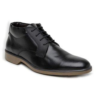 Sapato Social Cano alto Masculino Bertelli  - Preto 45053  - 44