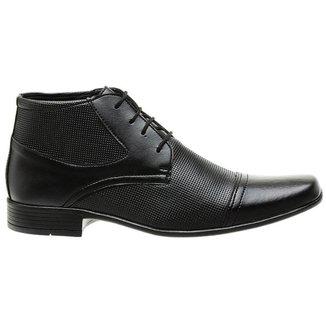 Sapato Social Casual Classico Masculino Preto
