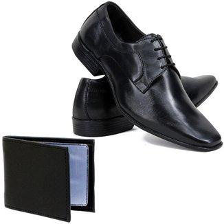 Sapato Social Cla-Clê Masculino Couro Conforto Sofisticado