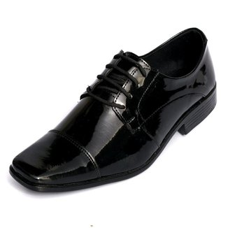 Sapato Social com Cardaço em Couro Selten Masculino