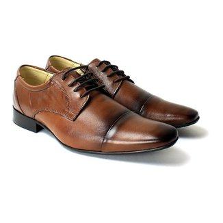 Sapato Social Confort Zanuetto Liso Masculino