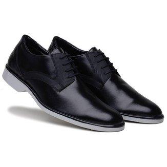 Sapato Social   Conforto Solado Bicolor 45027 Masculino