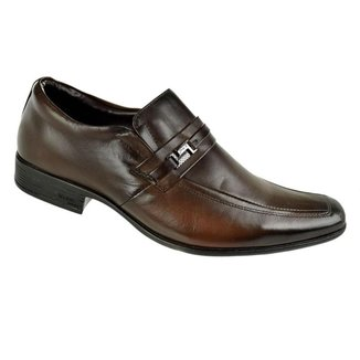 Sapato Social Constantino Afivelado Marrom Masculino 41