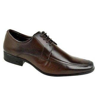 Sapato Social Constantino Cadarço Masculino - Marrom 44