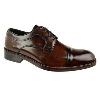 Sapato Social Constantino Couro Marrom Masculino 43