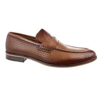 Sapato Social Constantino Crocodile Marrom 43