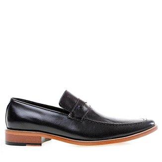 Sapato Social Constantino Natural Preto 44
