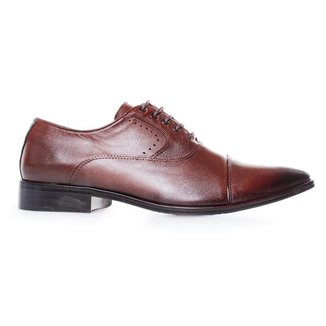 Sapato Social Constantino Premium Brown 44