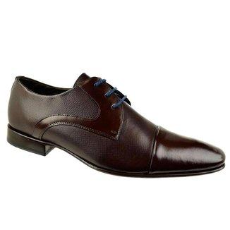 Sapato Social Constantino Purely Marrom Masculino 43