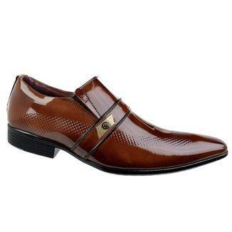 Sapato Social Constantino Thin Marrrom - Marrom 38