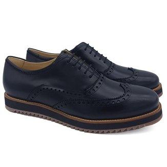 Sapato Social Couro Adolfo Turrion Confort Masculino