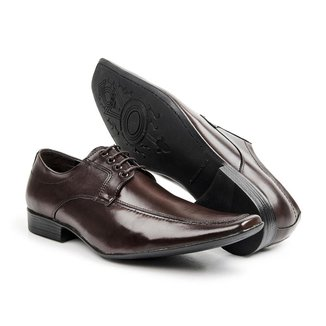 Sapato Social Couro Bico Fino Bigioni Masculino