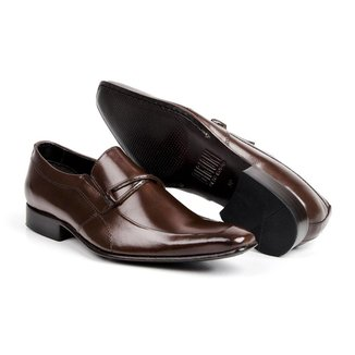 Sapato Social Couro Bigioni Bico Fino Masculino