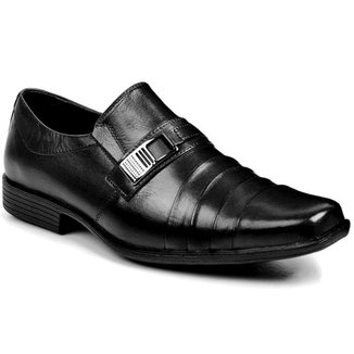 Sapato Social Couro Bigioni Sem Cadarço Masculino