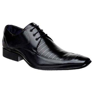 Sapato Social Couro com Cadarço Bigioni