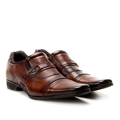 Sapato Social Couro Conforto Rafarillo New Vegas Masculino