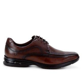 Sapato Social Couro Democrata Air Spot Masculino